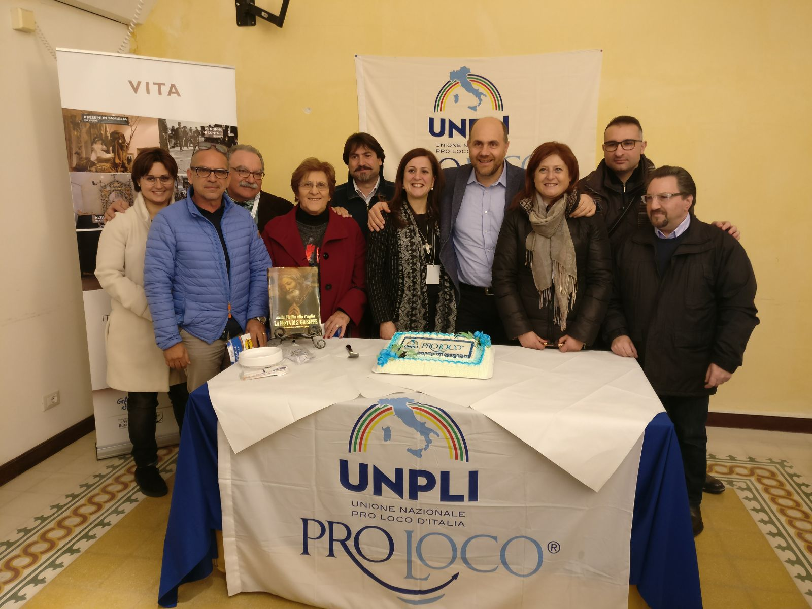 Il Presidente UNPLI in visita a Salemi