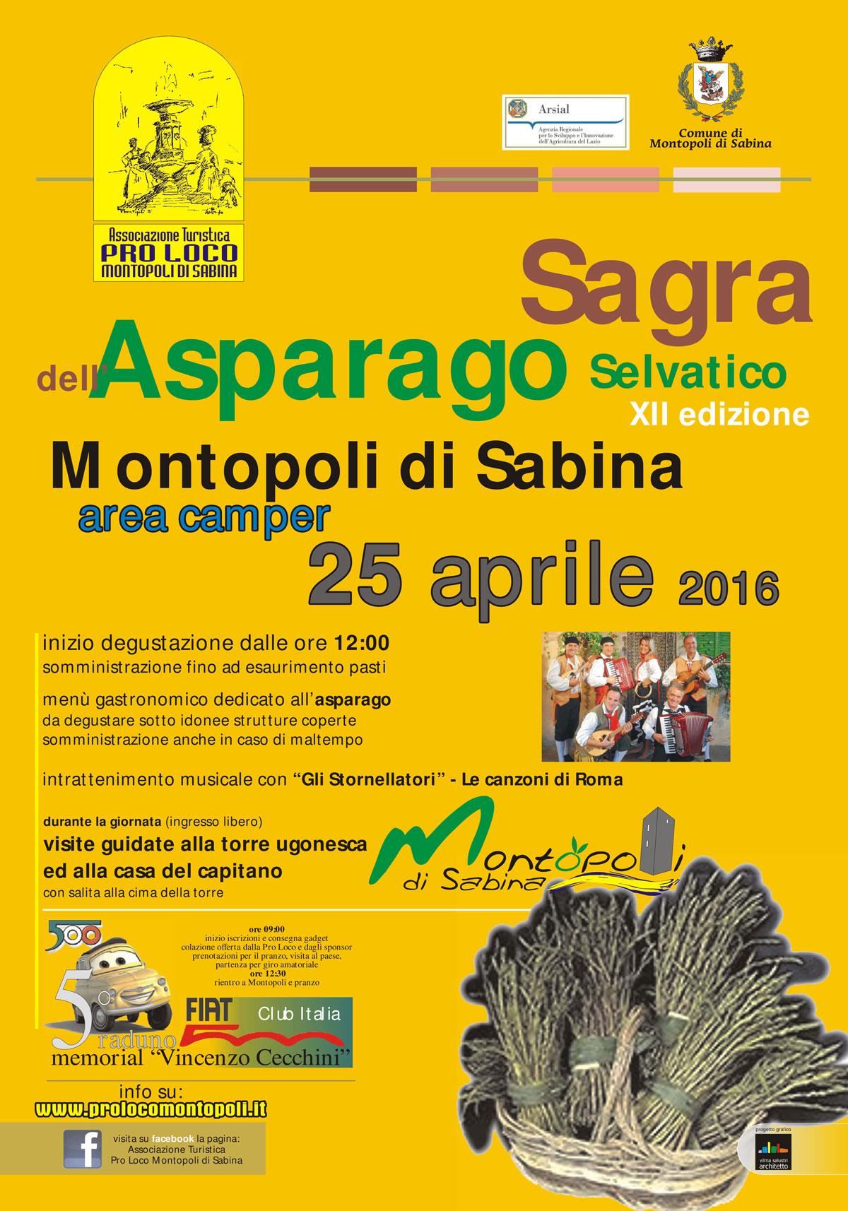 Comune Di Montopoli Di Sabina xii sagra dell'asparago selvatico a montopoli di sabina