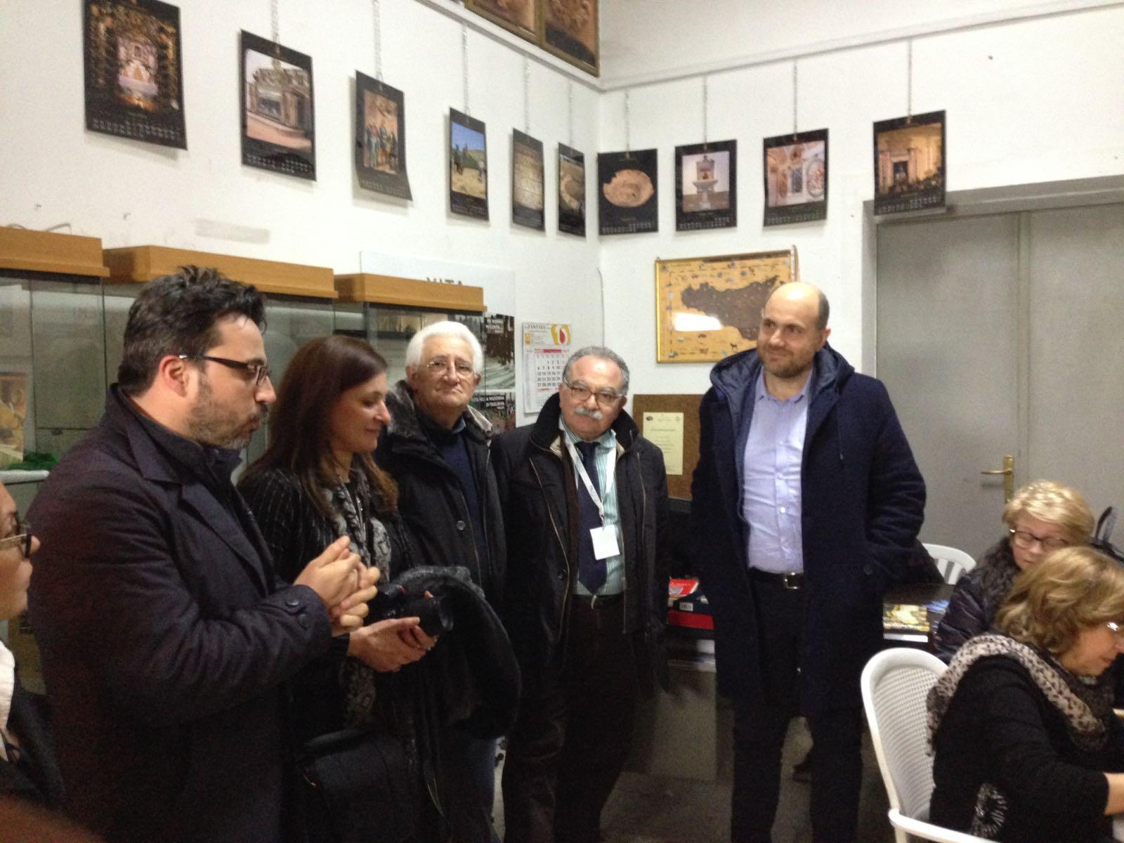 Il Presidente UNPLI in visita a Salemi